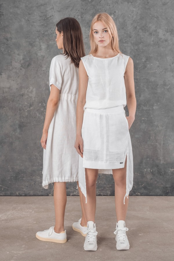 Linen skirt RONNY