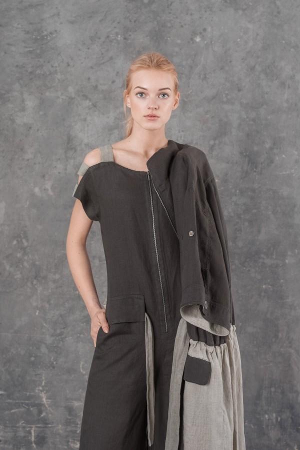Linen jumpsuit MASSIMO